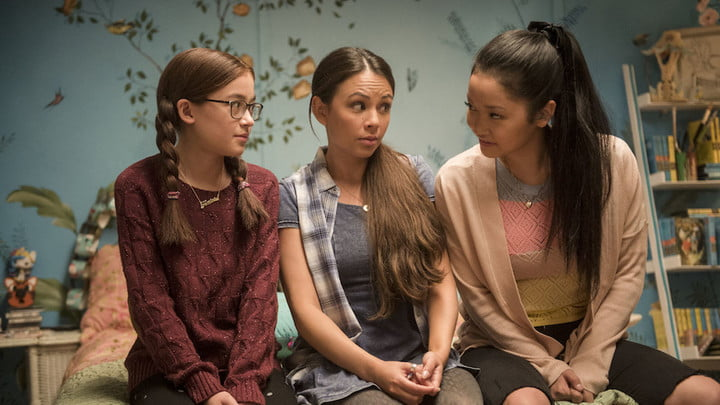 A scene from To All The Boys I've Loved Before.