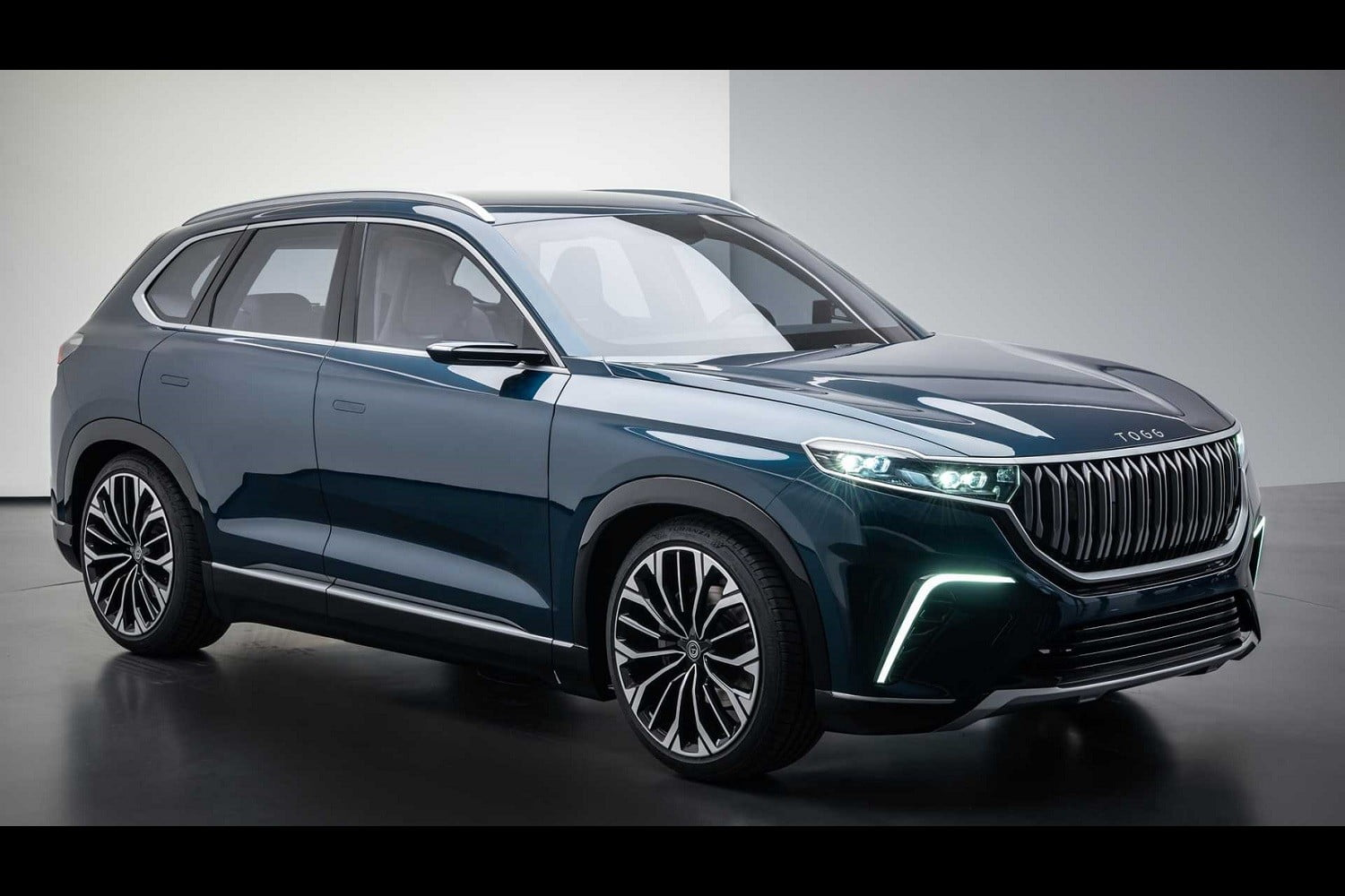 TOGG electric SUV front view