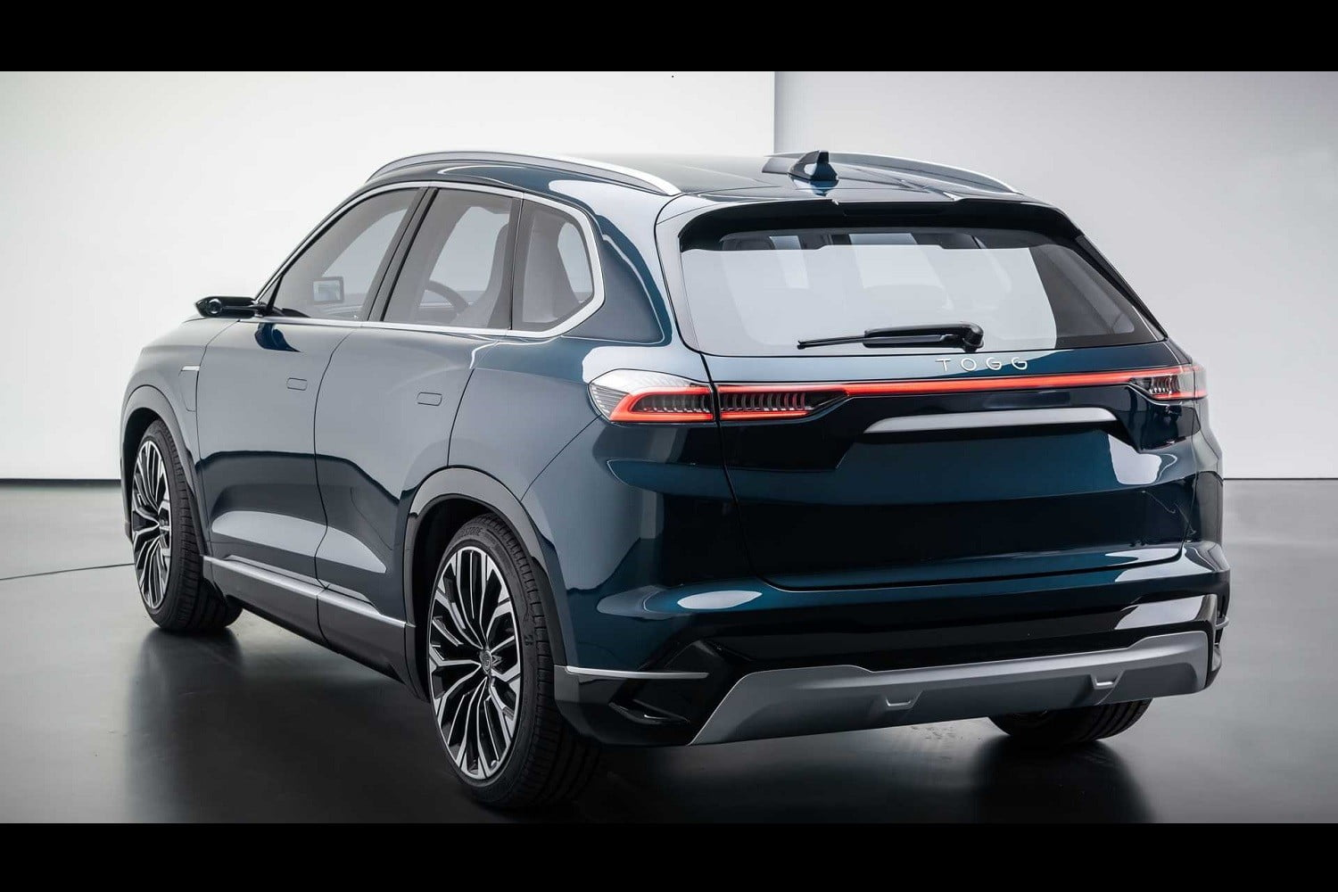 TOGG electric SUV rear view