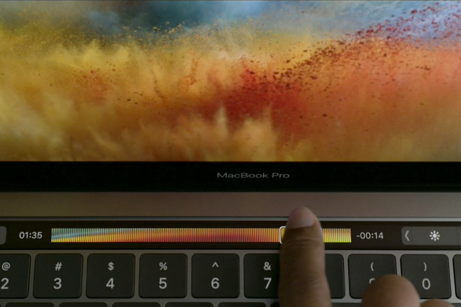 apple macbook pro oled touch bar