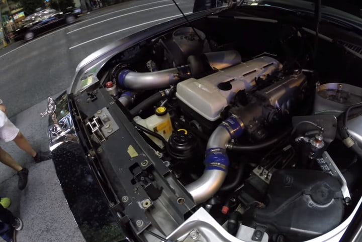 toyota powered rolls royce video specifications performance