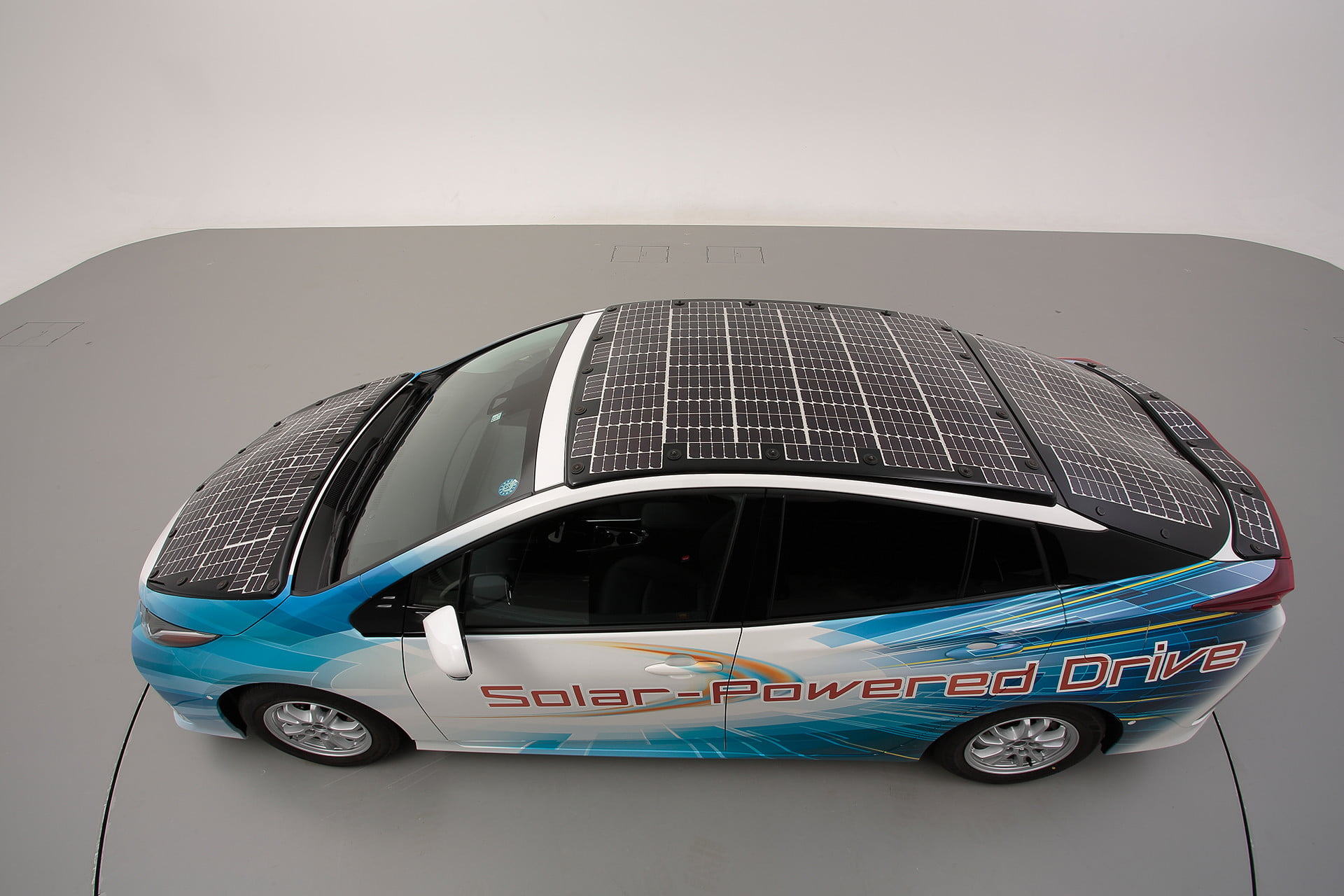 toyota has covered a prius in solar cells to add 27 miles its range 7