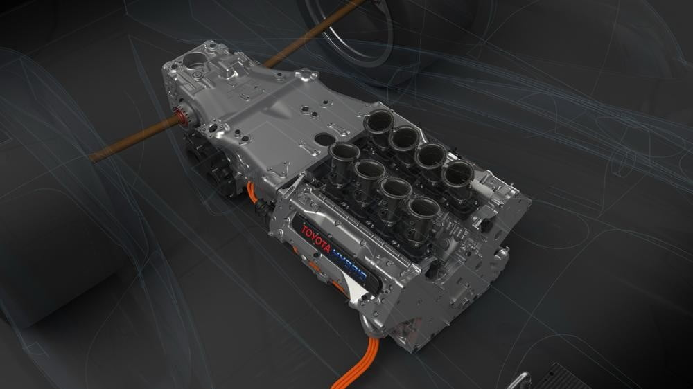 24 hours of le mans tech toyota ts040 engine 1
