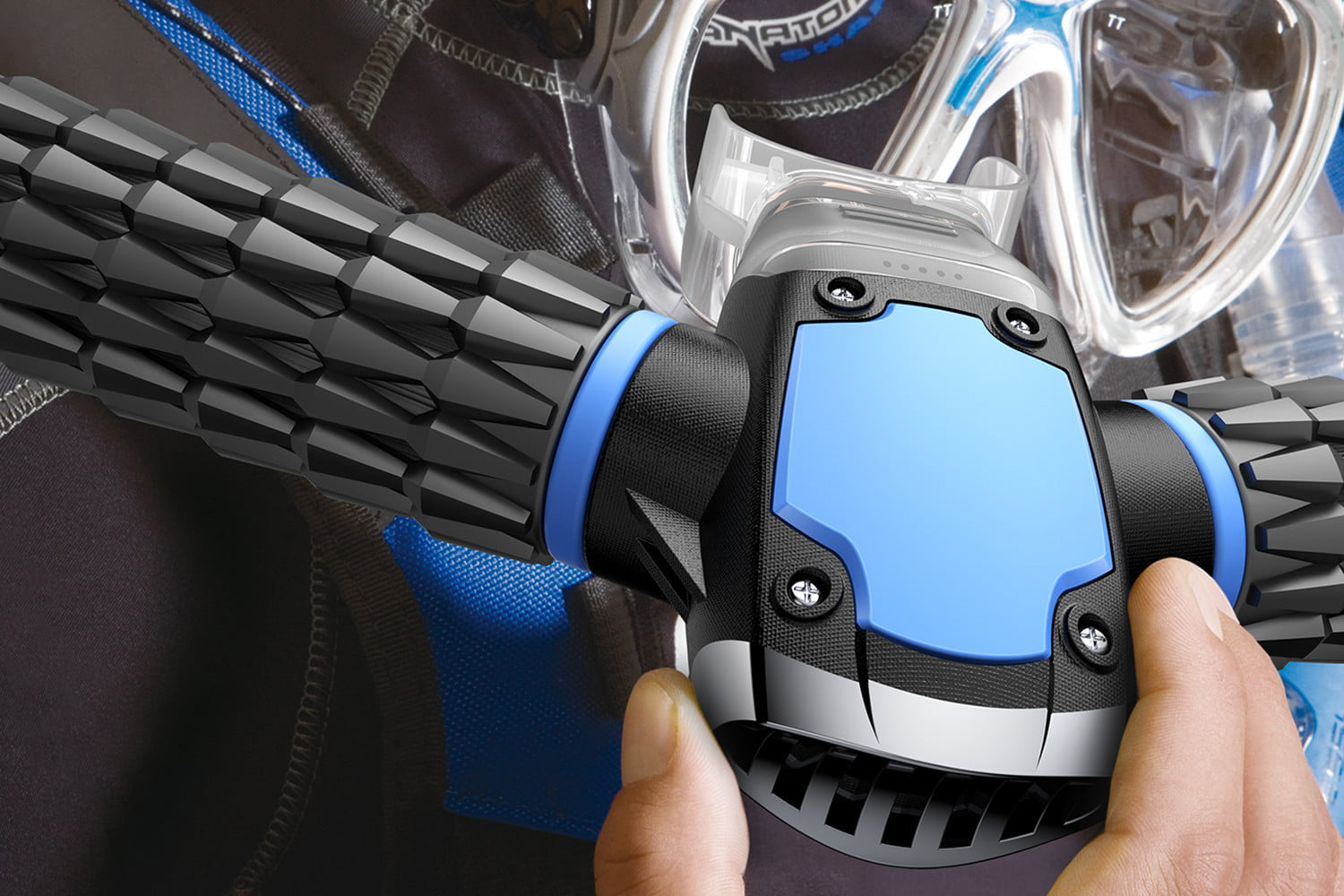 awesome tech you cant buy yet triton gills nervana headphones scuba mask  artificial