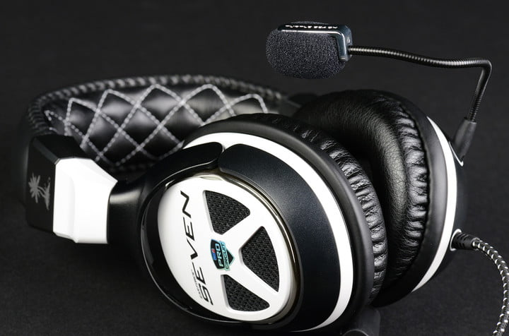 Turtle Beach Ear Force XP Seven Review front angle top