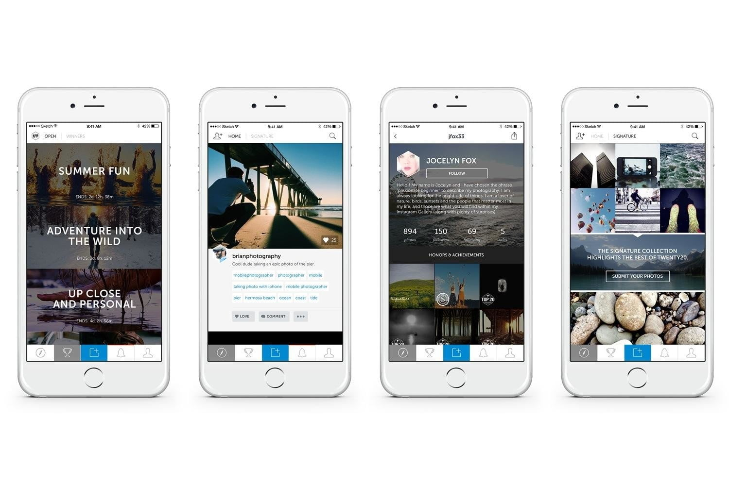 twenty20 wants to be the getty of mobile photography app screenshots