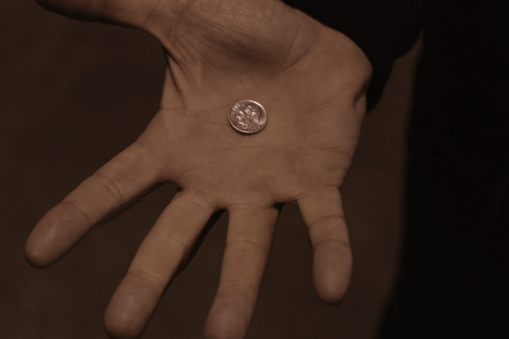 twin peaks part 6 analysis meaning coin toss