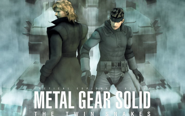 Two fighters in Metal Gear Solid: The Twin Snakes.
