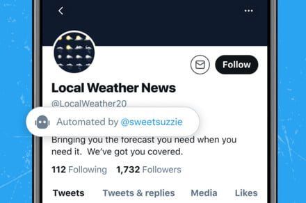 Twitter Wants to Make It Easier to Spot Good Bot Accounts