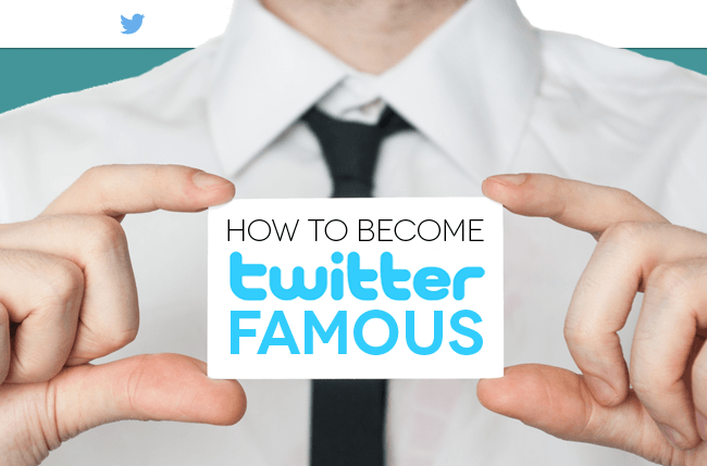 become twitter famous header image