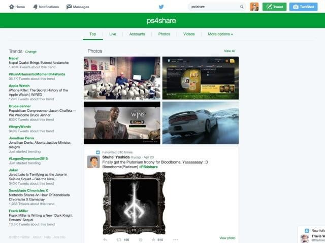 twitter plays around again with new design for search results