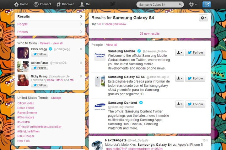 twitter now lets you access recent searches search results