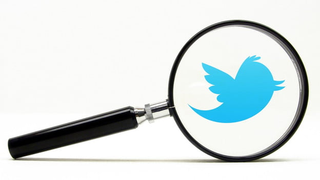 twitter users magnifying glass