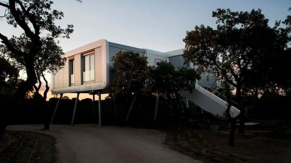 the prefab spaceship house looks like it came from space ufo 5