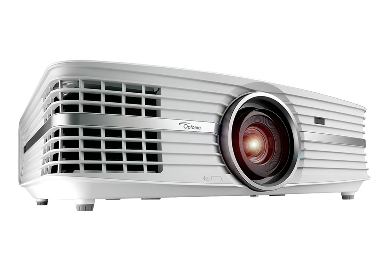 optoma launches uhd60 4k projector side