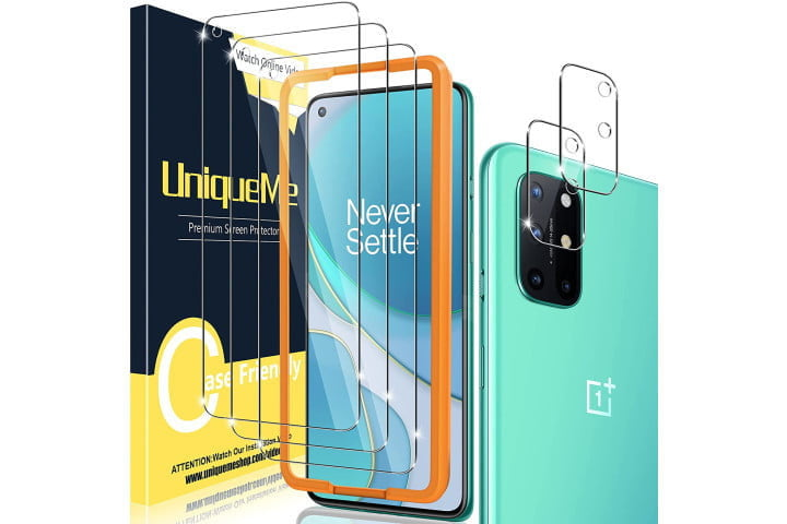 UniqueMe Tempered Glass Screen Protector for OnePlus 8T