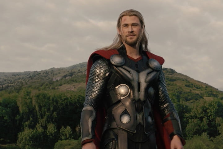 Thor in Avengers: Age of Ultron.