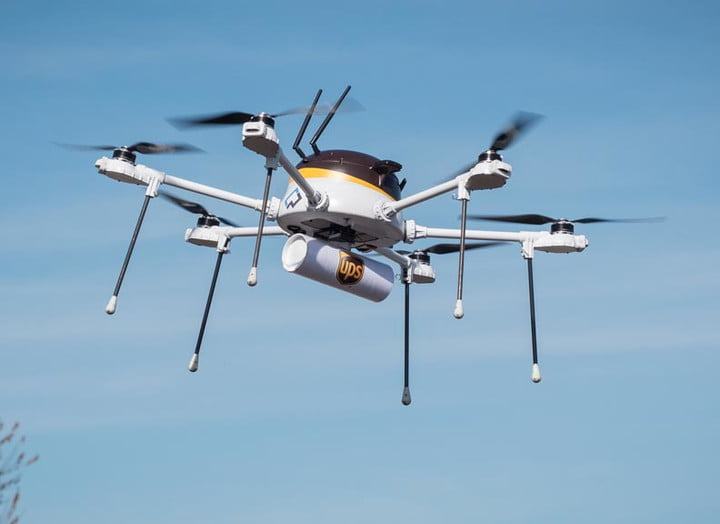 ups test drone deliveries cyphy partnership