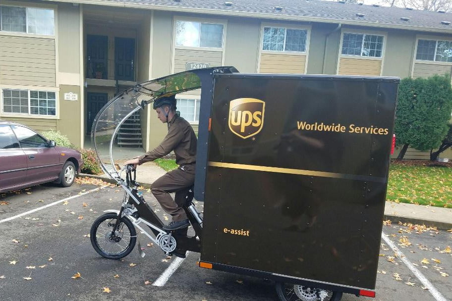 ups delivery ebike 2