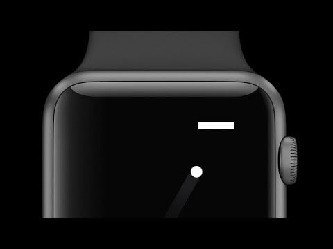 heres a tiny game of pong for your apple watch