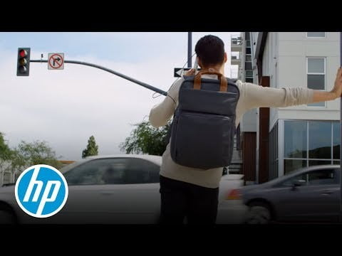 hp powerup backpack battery charge laptop phone tablet introducing the  portable charger studios