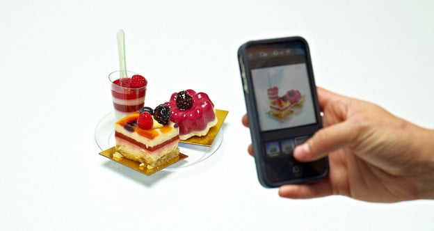 instagram taking pictures of food