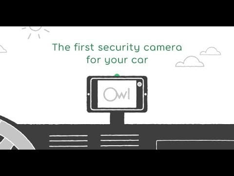 owl car cam meet  the first security camera for your