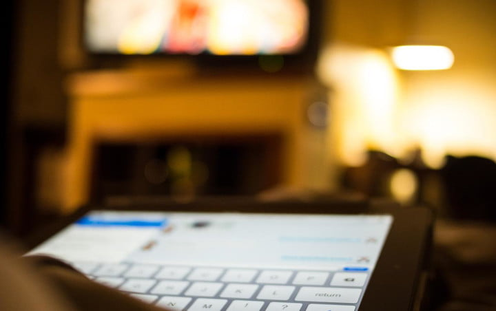 television is fighting a losing battle for the attention of americans using ipad watching