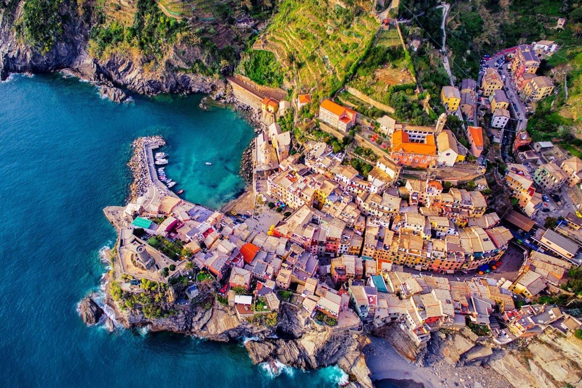 dronestagram best of 2016 vernazza  cinque terre italy by jcourtial