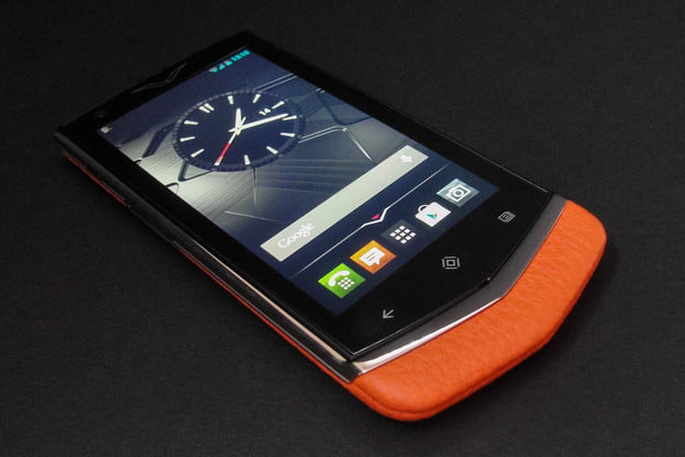 vertu constellation review front angle clock