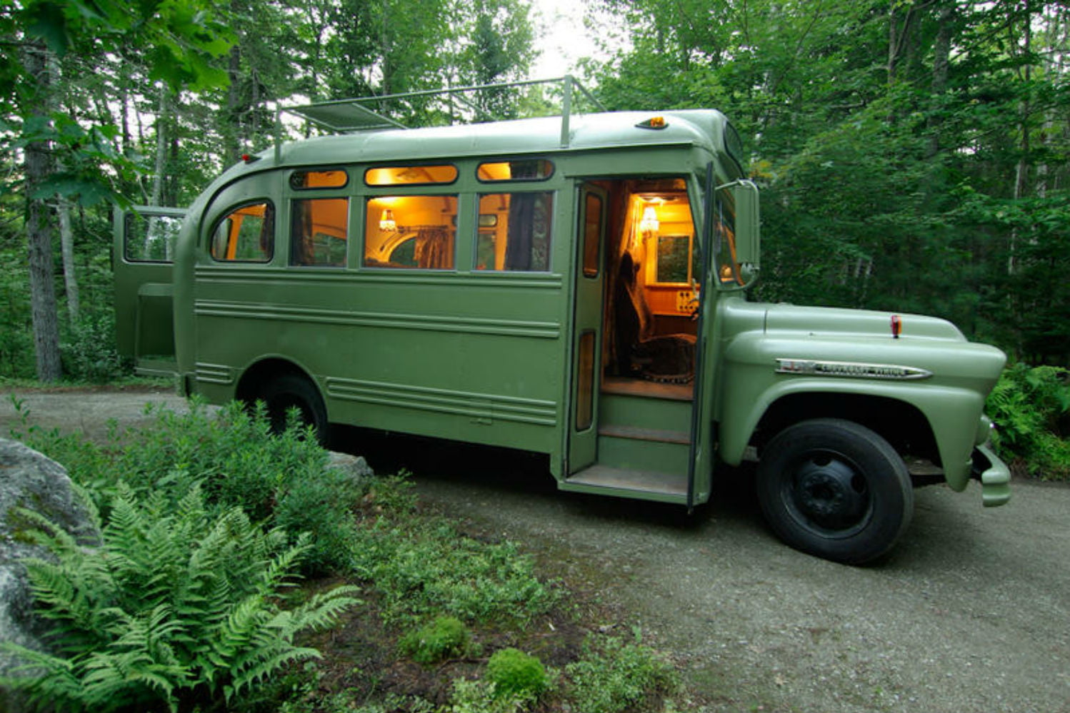 coolest bus to mobile home conversions vikingbusafter