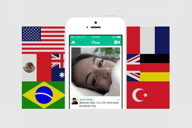 vine short video app expands globally with support for 19 languages