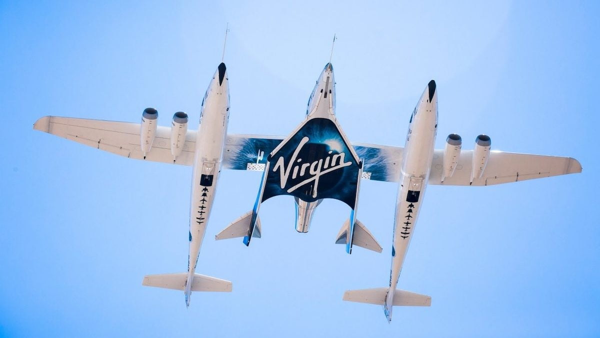 Watch Virgin Galactic prep space plane for Sunday's launch
