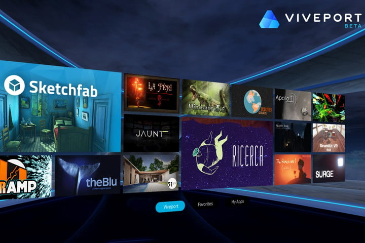 htc launches vr focused viveport m storefront for android
