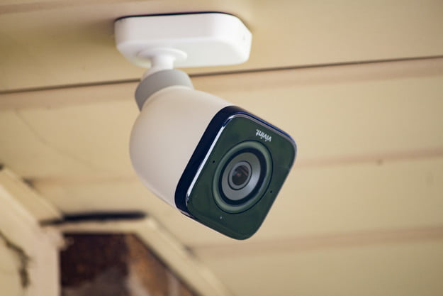 Photo of the Vivint outdoor camera.
