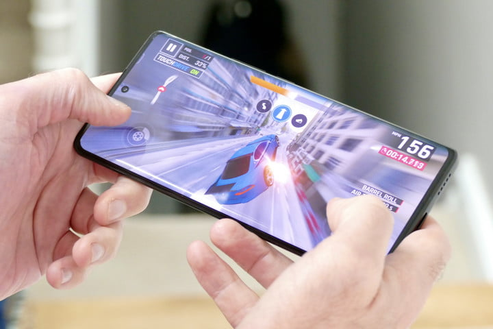 Game being played on the Vivo X70 Pro+.