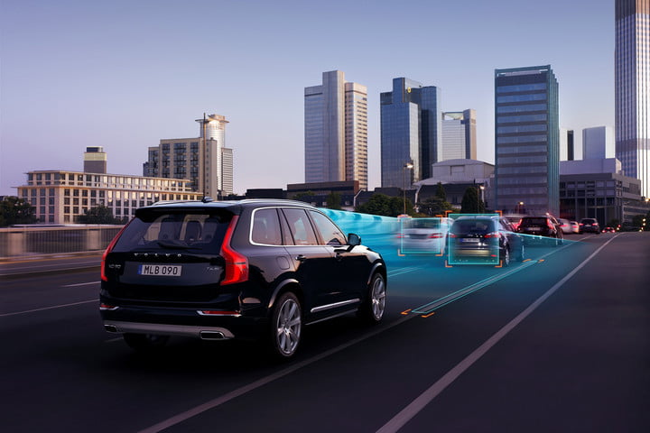 uk adrian flux driverless car insurance volvo automatic braking