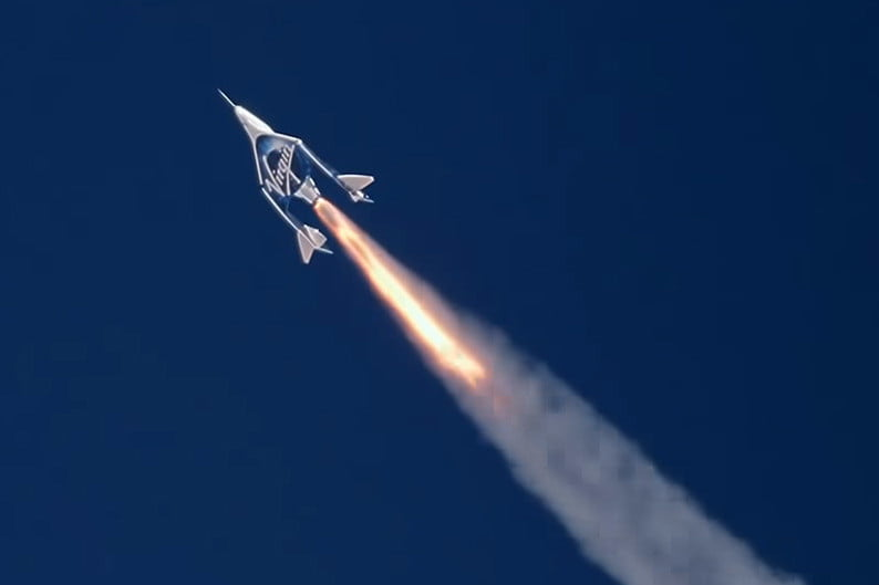 How to watch Virgin Galactic's first fully crewed space flight