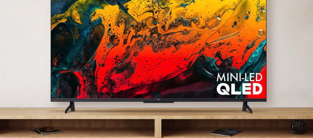 TCL's 6-Series Google TV with mini-LED backlighting.