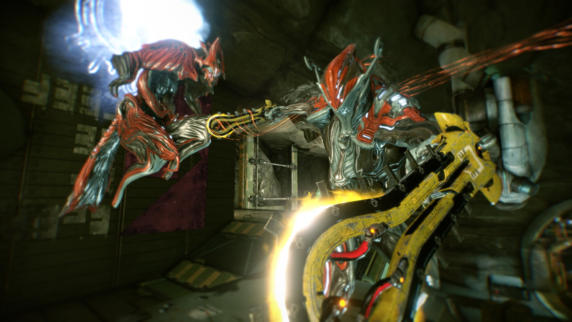 warframe gives polish the middle finger warframe2