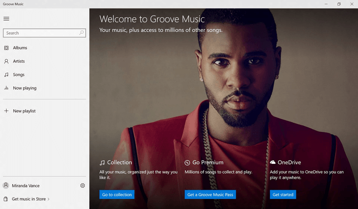 microsoft unveils groove a rebrand of xbox music set to launch alongside windows 10 welcome screen for