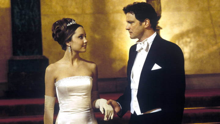 Amanda Bynes and Colin Firth in What A Girl Wants