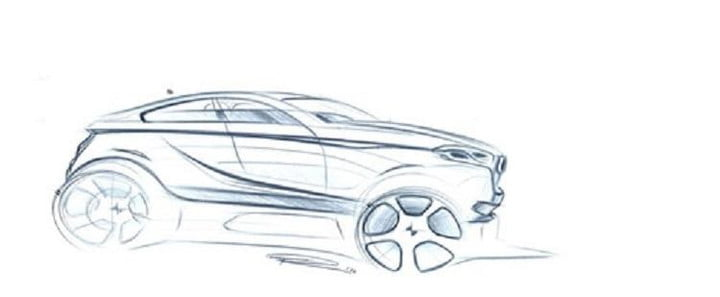 bmw x2 crossover coupe rumors sketch