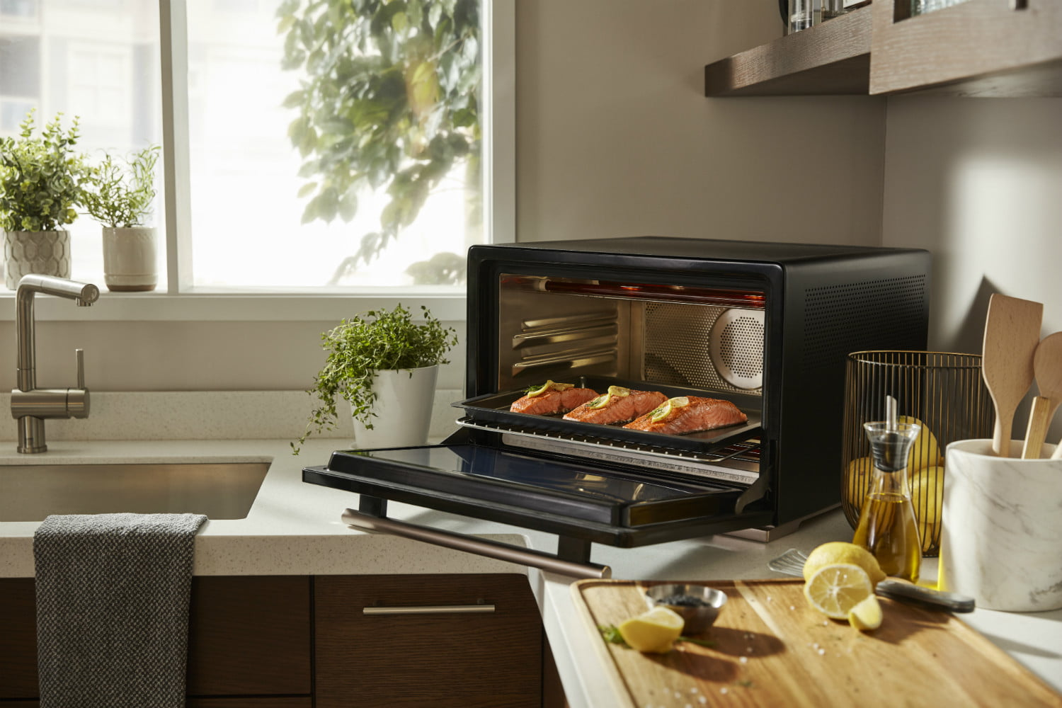 all amazon alexa announcements ces 2019 whirlpool smart counter top oven with