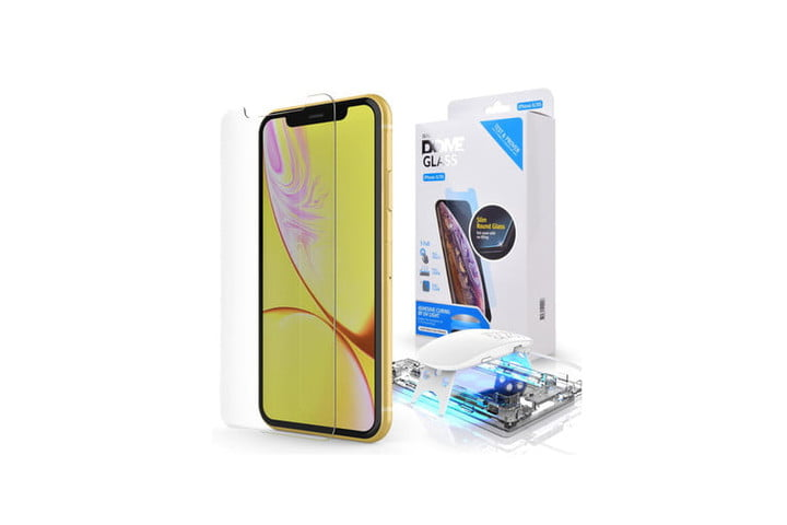Whitestone Dome Glass Tempered Glass Screen Protector for iPhone 11.