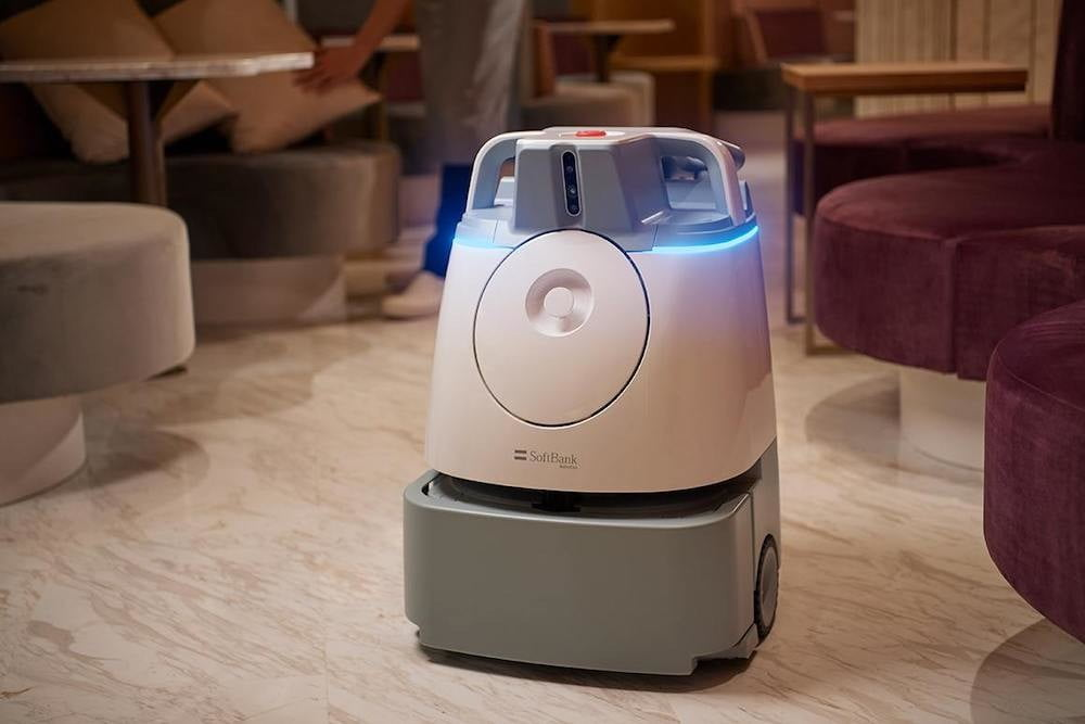 softbank enters the cafe business with new robot filled pepper parlor whiz