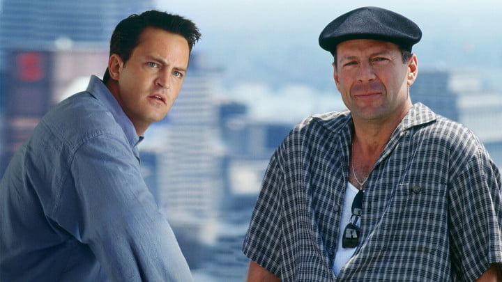Matthew Perry and Bruce Willis in The Whole Nine Yards