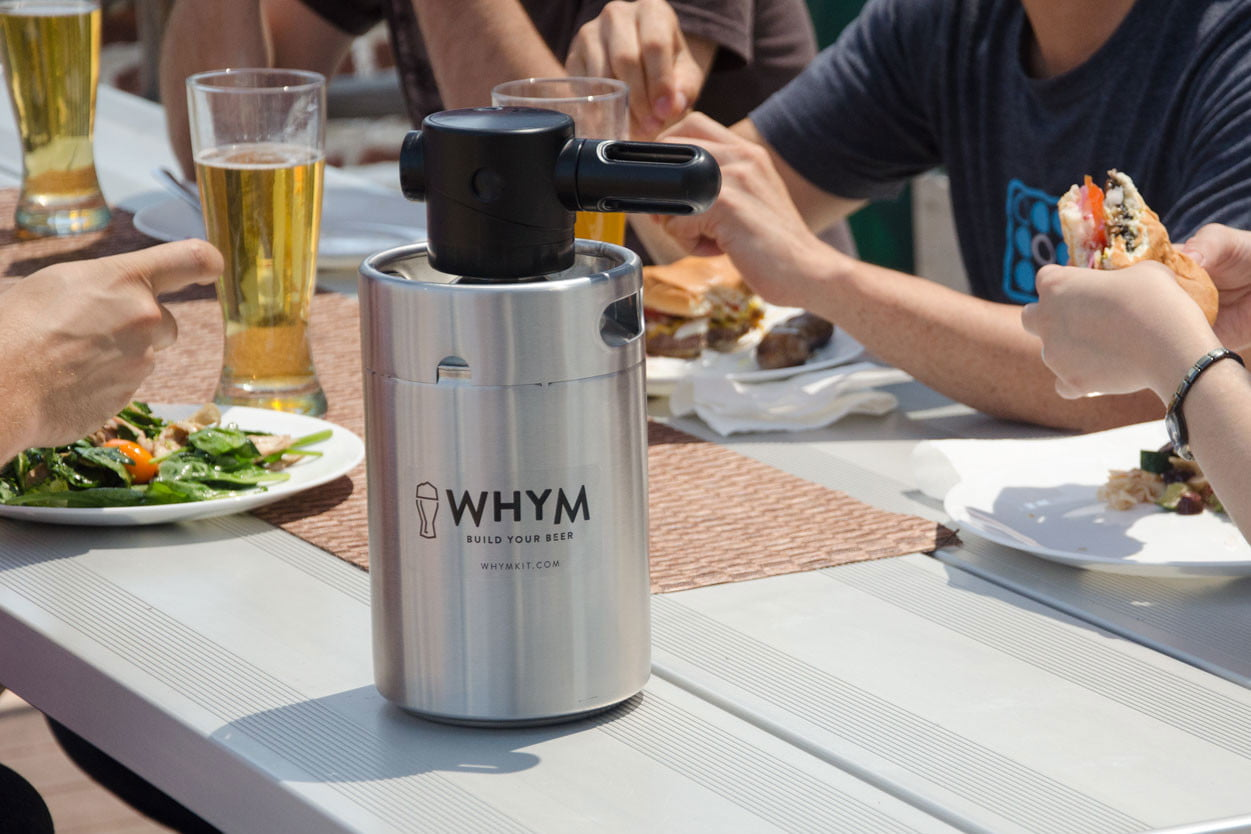 whym home beer making kit launches homebrew 002