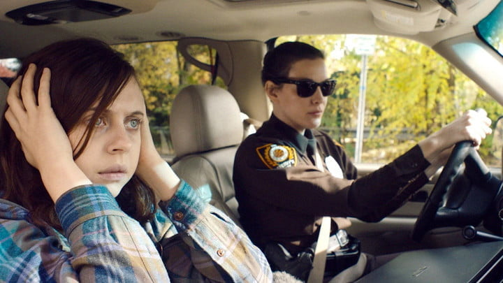 Bel Powley and Liv Tyler in a scene from the film Wildling.