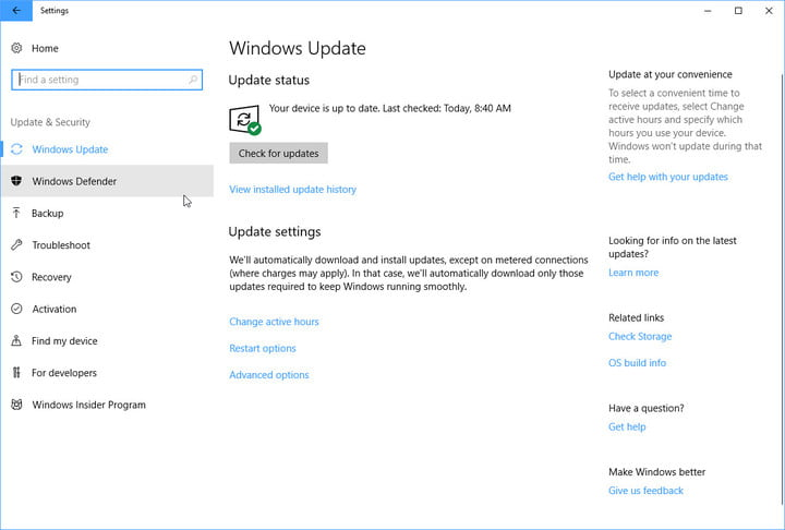 The tool to update Windows.